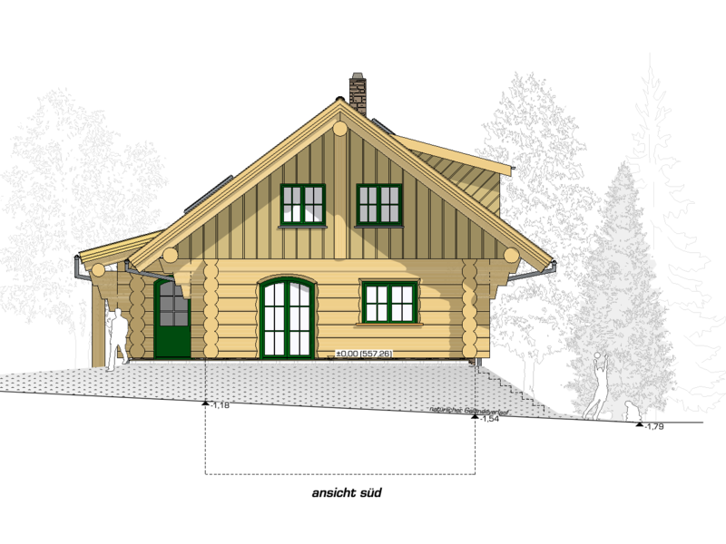 "Kanadisches Blockhaus ""Bear Creek Lodge"""