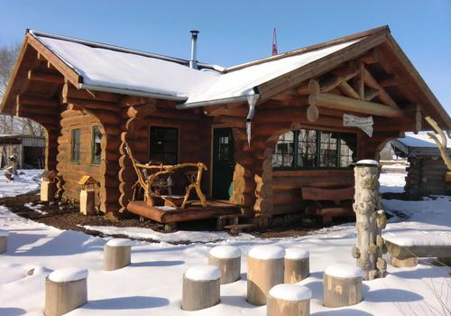 Blockhaus, Naturstamm, Rundholz, Kanadablockhaus, Blockhaus bauen